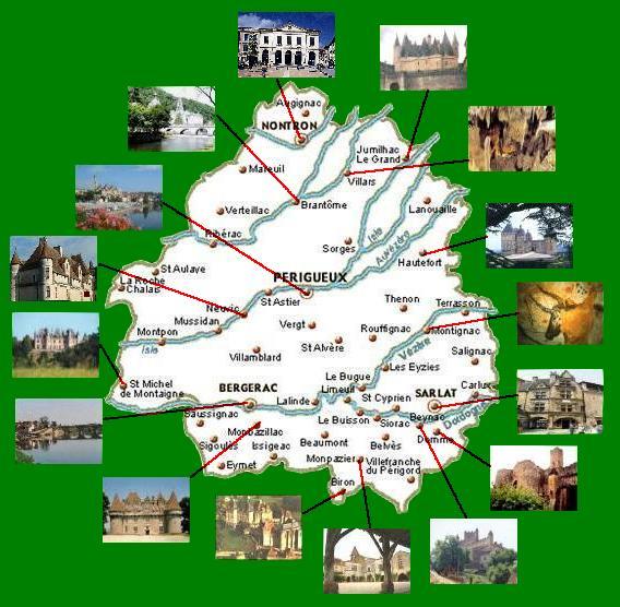 guide touristique dordogne